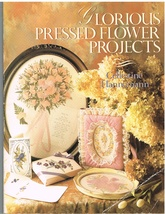Glorious Pressed Flower Projects Craft How To Book - $8.95