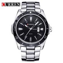 2018 NEW curren  watches men Top Brand fashion watch quartz watch male relogio m - $30.34