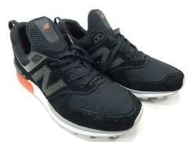New Balance 574 Sport Size 7.5 M (D) EU 40.5 Men's Running Shoes Black MS574AB