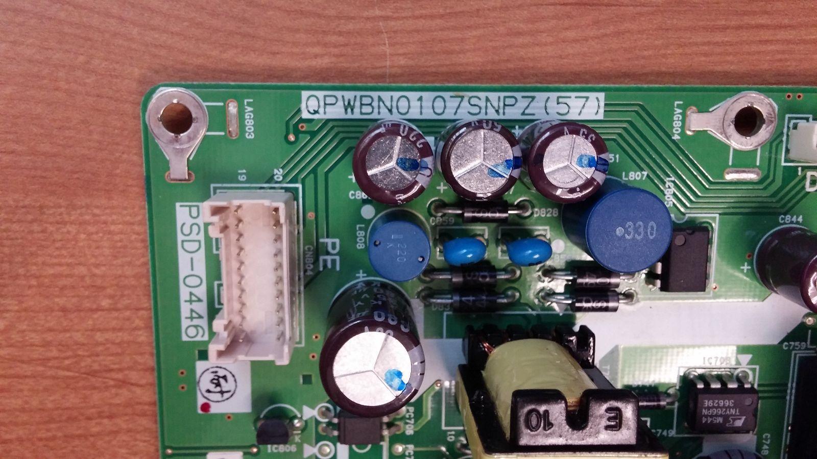 Sharp RDENCA138WJQZ (QPWBN0107SNPZ(57)) Power Supply Unit **FREE SHIPPING**