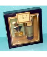 Coty  dark vanilla  cologne   body lotion fragrance set in presentation box thumbtall