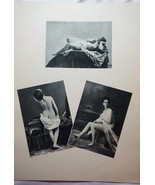 Black and White, Vintage Fine Art, Black and White Nudes, Nude Photography - $44.00