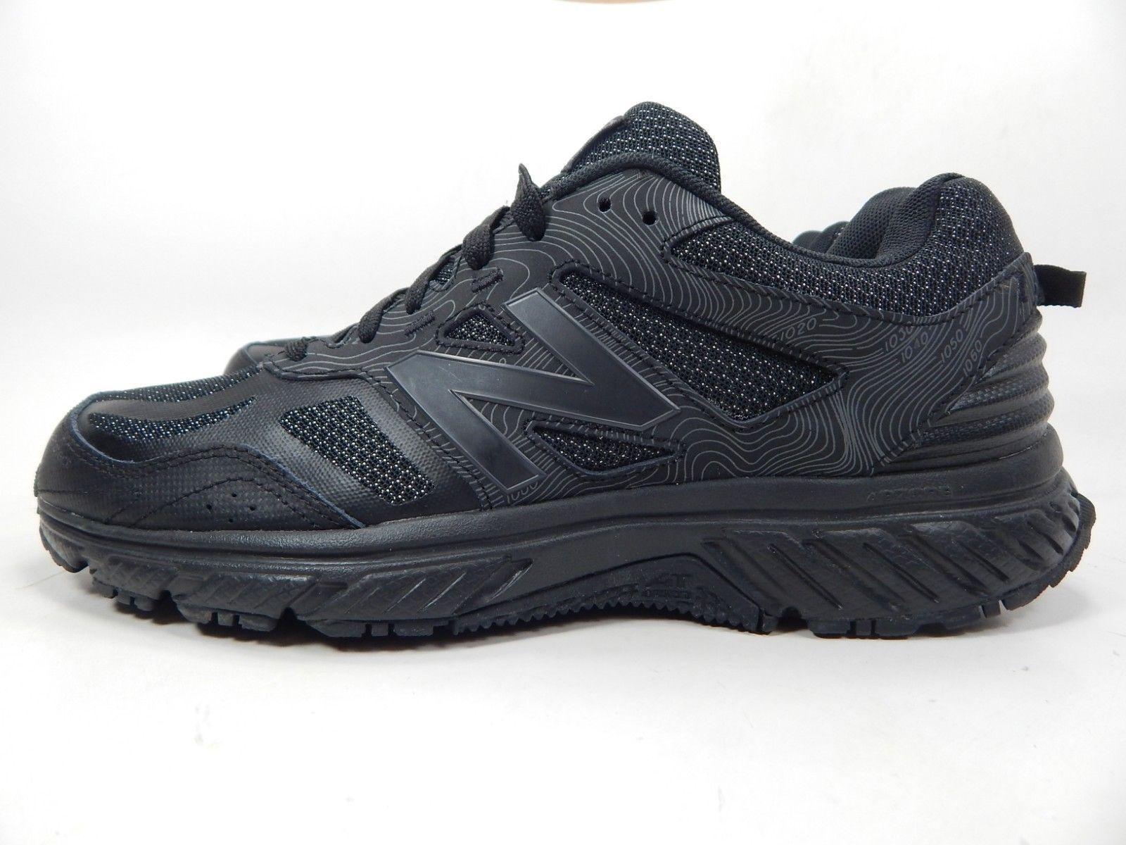 New Balance 510 v4 Sz 9.5 M (D) EU 43 Men's Trail Running Shoes Black MT510LB4