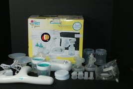 The First Years Quiet Expressions Double Electric Breast Pump minus Travel Tote - $30.69