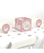 Big Dot of Happiness Swan Soiree - White Swan Baby Shower or Birthday Pa... - $13.19