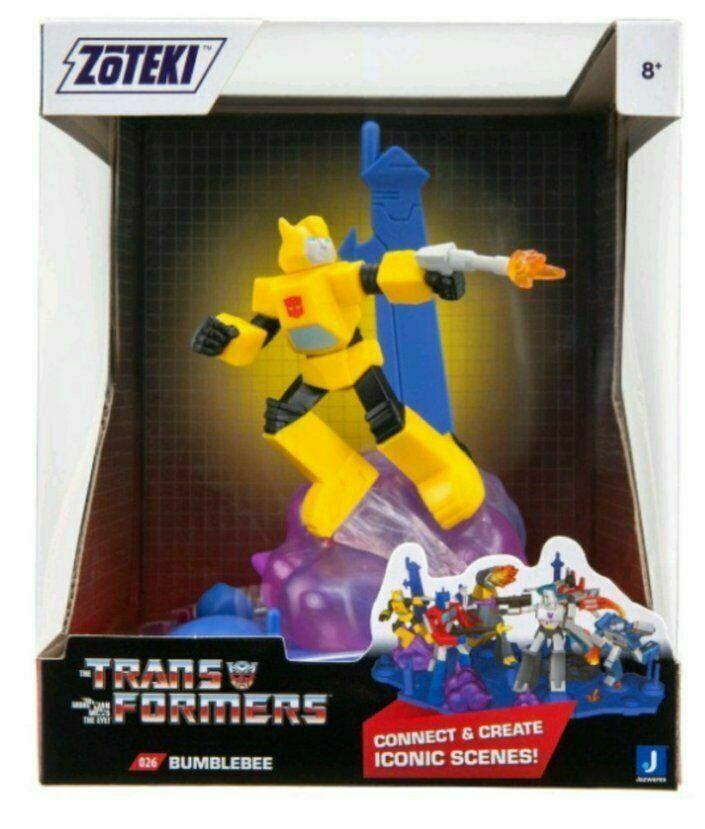 "2021 Jazwares Zoteki Transformers Bumblebee Diorama 6"" Action Figure NEW SEALED"