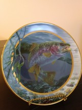 """Field & Stream """"Rainbow Trout"""" by Randy McGovern Plate No HA2950 Plate The Frank image 1"""