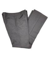 Men's WRANGLER Wrancher Bootcut Gray Twill Poly Pants, Size 42W x 32L - $14.99