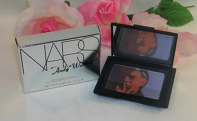 Primary image for New NARS Andy Warhol Eye Shadow Palette Self Portrait 3 Compact  .42OZ 12G 9979