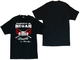 The Walking Dead Lucille Is Thirsty Image Men's T-Shirts Sizes (S thru 4XL) - $20.78+