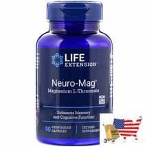 Life Extension, Neuro-Mag, Magnesium L-Threonate, 90 Vegetarian Capsules - $45.02