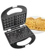 NEW - Emoji Universe: 2 Slice Emoji Waffle Maker, Waffle Iron  Kids Brea... - ₨2,368.58 INR