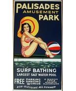 Palisades Amusement Park Vintage Metal Sign - $17.95
