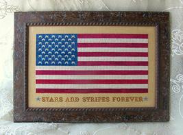 Stars and Stripes Forever cross stitch chart Primrose Needleworks - $9.00