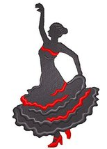 BeyondVision Let's Dance Custom And Unique Embroidered [Flamenco Silhoue... - $7.91