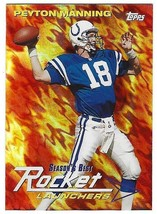 1999 Topps #SB10 Peyton Manning Season's Best - Rocket Launchers Qb Colts Mint - $4.51