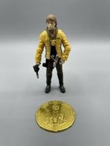 """Star Wars Luke Skywalker Yavin 3.75"""" Figure 2007 30th Anniversary #12 Gold Coin - $11.26"""