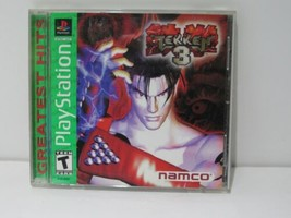PlayStation 1 PS1 Namco Tekken 3 | Tested and Working - $13.25