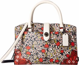 New Coach Women Mercer 24 Leather Satchel Bags Variety Colors Msrp $350.00 - $235.19+