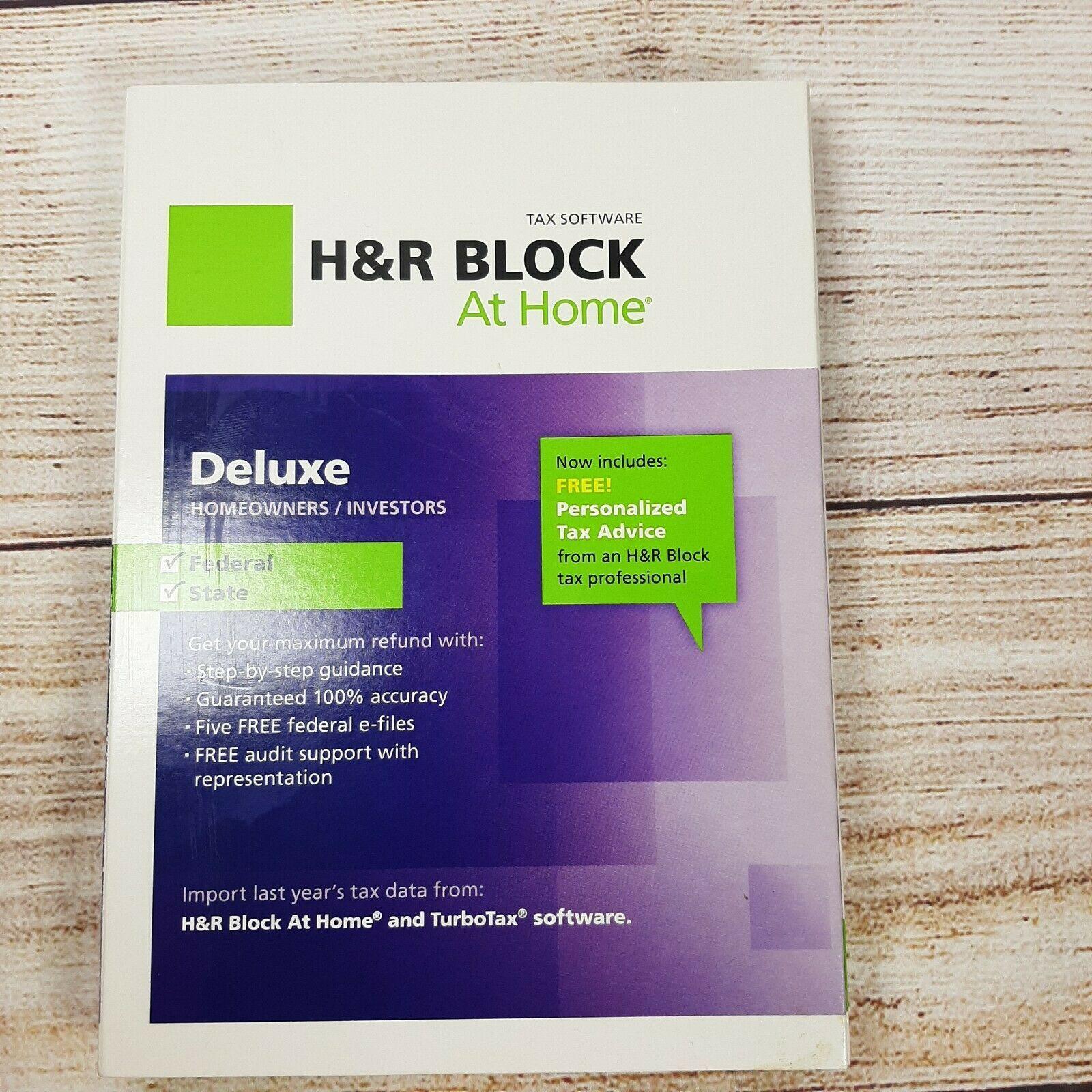 H&R Block At Home Premium 2012 Tax Software Read Description - $5.93