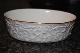 Small Lenox China Oval Candy Dish 2002 - $16.06