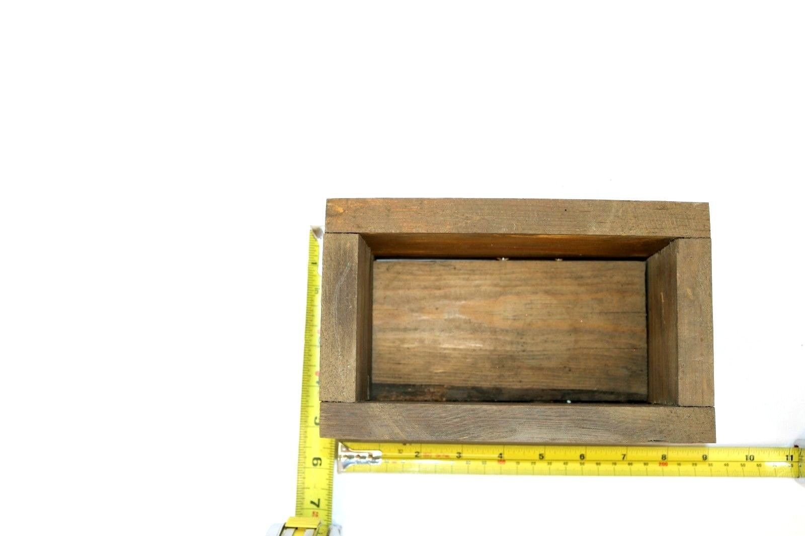 Handmade Rustic Wooden Planter Box Rectangle