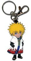 Naruto Chibi 4th Hokage Minato Namikaze (Yondaime)  Key Chain GE4873 *NEW* - $8.99