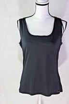 Calvin Klein NEW Black Women's Size L Wrap Body Suits Top Blouse $39 - $16.83