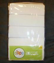 Short Sleeve Bodysuits Onesies 5 Pack White Unisex 9 12 Months Cotton Circo New - $7.93