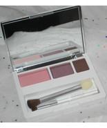 Clinique Colour Surge Eye Shadow Trio Strawberry Fudge Beach Plum Chocol... - $20.98