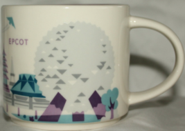 Starbucks Disney Epcot Version 2 You Are Here Collection Coffee Mug NEW ... - $45.98