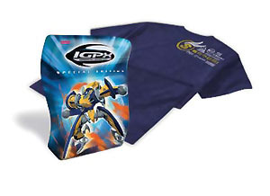 IGPX: Vol. 01 Special Edition With T-Shirt DVD Brand NEW!