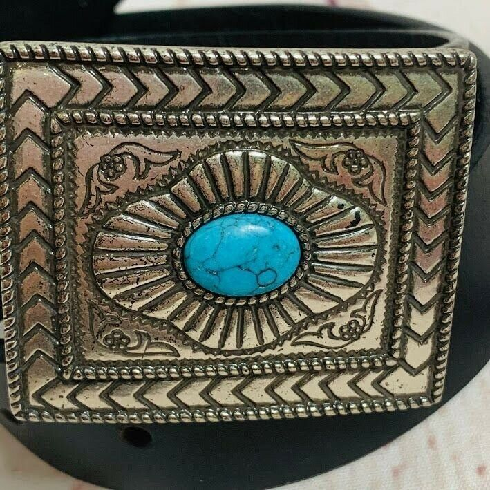 Primary image for Nocona Black Leather Belt N343001-32 Style Size 36 in