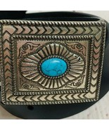 Nocona Black Leather Belt N343001-32 Style Size 36 in - $35.00