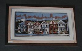 Row Houses Cross Stitch Pattern Chart Diana Gordon Design 108x209 Stitches - $16.78