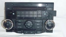 10 11 Ford Fusion Milan Radio Control Panel Face Plate 9E5T-18A802-AC Bu... - $11.14
