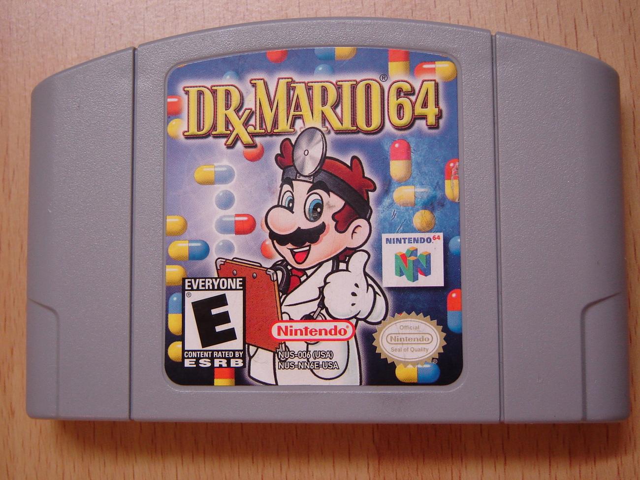 DR. MARIO 64 Nintendo 64 N64 Game Cartridge