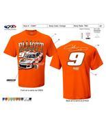 Chase Elliott #9 HOOTER'S Orange Extra Large Tee Shirt - $26.00