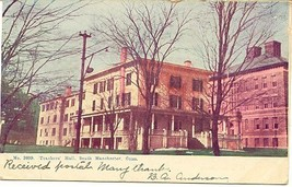 Teachers Hall South Manchester Conneticut 1906 Post Card - $6.00