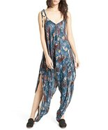 Free People Women's El Porto Harem Jumpsuit Multi Small - $106.92