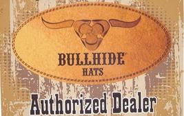 Bullhide Star Central Panama Straw Cowboy Hat Star Concho Black Natural image 6