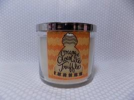 Bath and Body Works Orange Chocolate Truffle 3 Wick Scented Candle 14.5 ... - $27.67