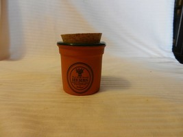 Small Terracotta Herbs Planter Or Spice Jar With Cork Stopper from Portugal - £11.39 GBP