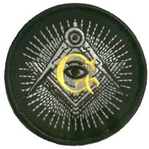 Embroidered Patch Masonic Eye Patch - $3.95