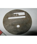 Singer 27 Sewing Machine Throat  Plate Part # 8323 - $7.00