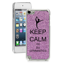 For Apple iPod Touch 4th 5th 6th Glitter Bling Hard Case Keep Calm Do Gy... - $14.99