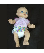 Baby Alive Wet N Wiggles Infant Girl Doll Anatomically Correct 2006 Hasbro  - $39.59