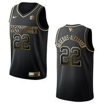 Men's Kentucky Wildcats #22 Shai Gilgeous-Alexander NCAA Golden Edition Jersey - - $59.99