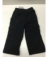 The Childrens Place 18-24 Months Cargo Cotton Pull On Pant Elastic Waist... - $9.74