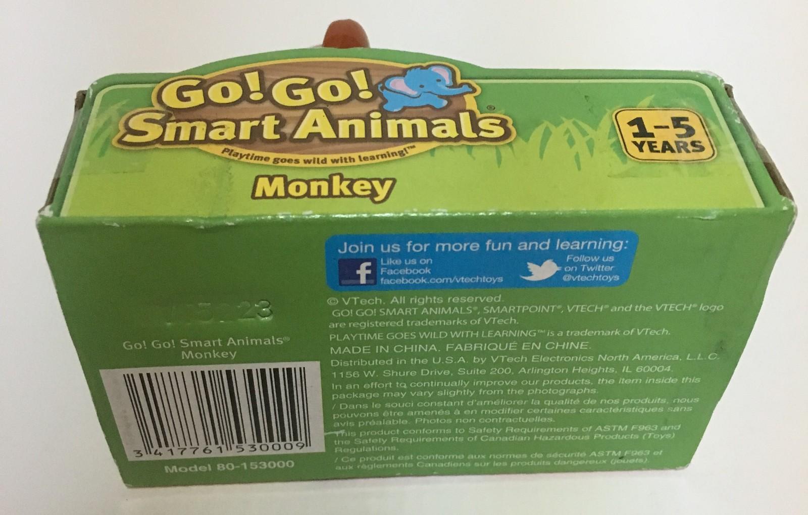 Vtech SmartPoint Go! Go! Smart Animals Monkey